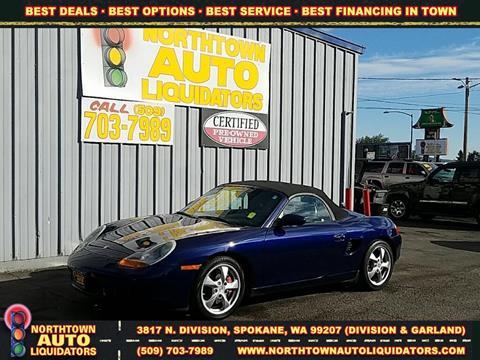 2002 Porsche Boxster for sale in Spokane, WA