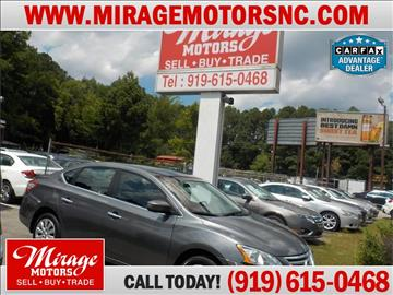 2015 Nissan Sentra for sale in Raleigh, NC