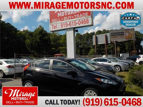 2014 Ford Fiesta for sale in Raleigh, NC