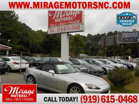 2004 Honda S2000 for sale in Raleigh, NC