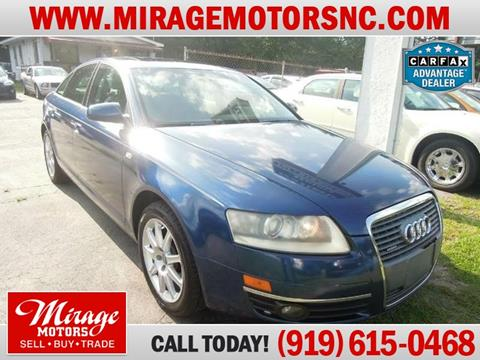 2005 Audi A6 for sale in Raleigh, NC