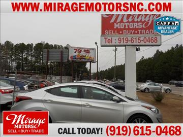 2015 Hyundai Elantra for sale in Raleigh, NC