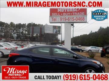 2013 Hyundai Elantra for sale in Raleigh, NC