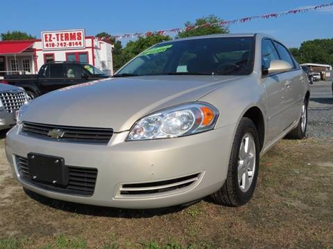 2008 Chevrolet Impala for sale in Fruitland, MD