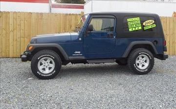 2004 Jeep Wrangler for sale in Fruitland, MD