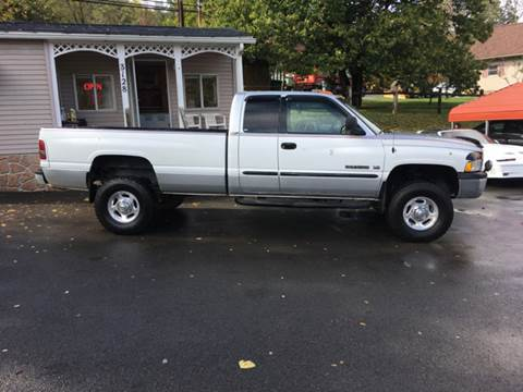 2002 Dodge Ram Pickup 2500 for sale in Morgantown, WV