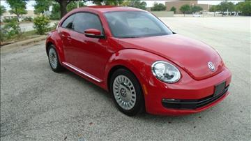 2013 Volkswagen Beetle for sale in Dallas, TX