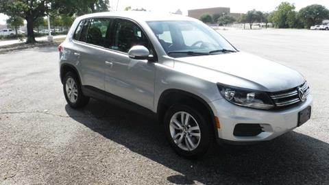 2013 Volkswagen Tiguan for sale in Dallas, TX
