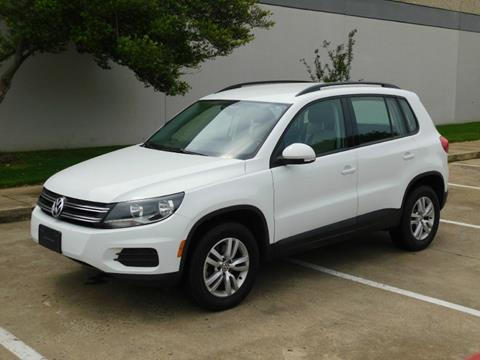 2016 Volkswagen Tiguan for sale in Dallas, TX