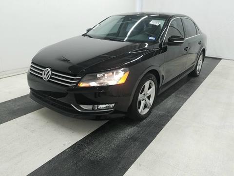 2015 Volkswagen Passat for sale in Dallas, TX
