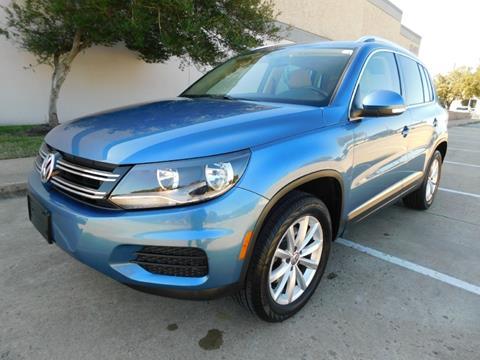2017 Volkswagen Tiguan for sale in Dallas, TX