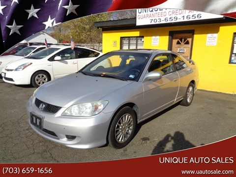2005 Honda Civic for sale in Marshall, VA