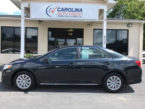 2012 Toyota Camry for sale at Carolina Auto Credit in Youngsville NC