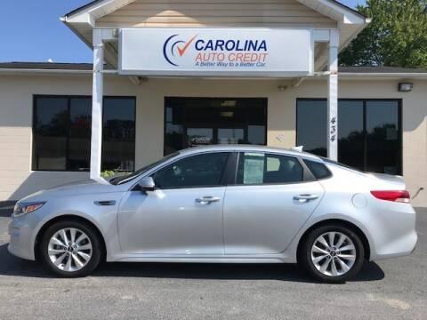 2017 Kia Optima for sale at Carolina Auto Credit in Youngsville NC