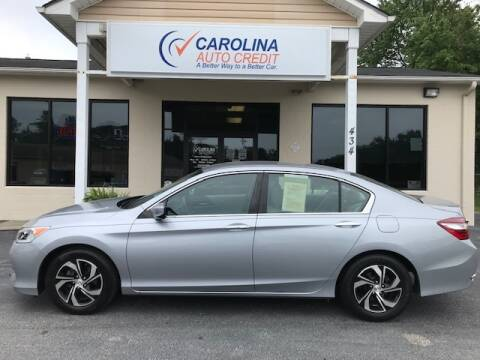2016 Honda Accord for sale at Carolina Auto Credit in Youngsville NC