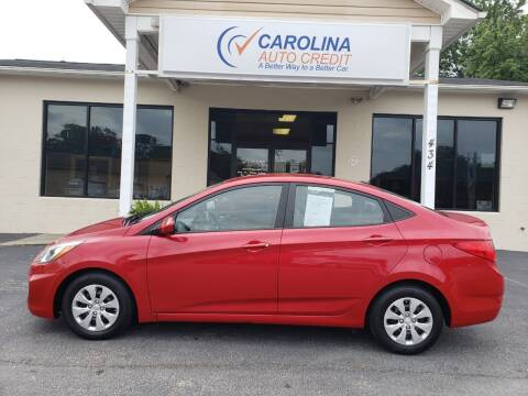 2016 Hyundai Accent for sale at Carolina Auto Credit in Youngsville NC