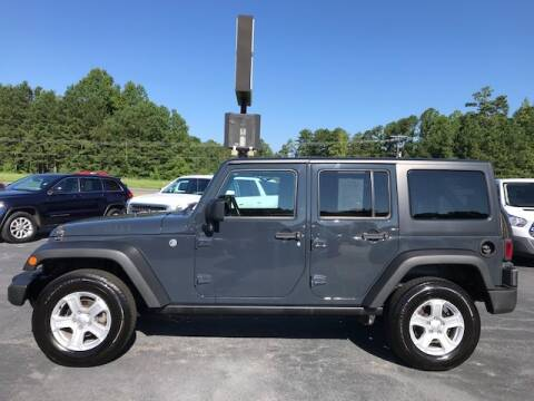 2017 Jeep Wrangler Unlimited for sale at Carolina Auto Credit in Youngsville NC