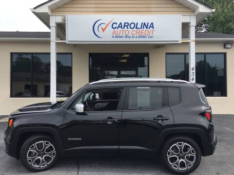 2015 Jeep Renegade for sale at Carolina Auto Credit in Youngsville NC