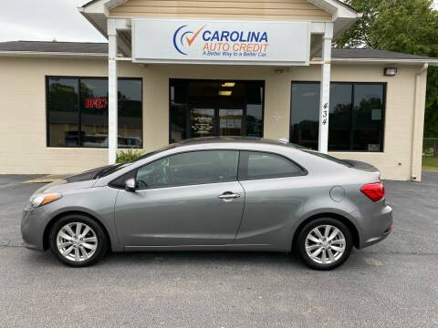 2015 Kia Forte Koup for sale at Carolina Auto Credit in Youngsville NC