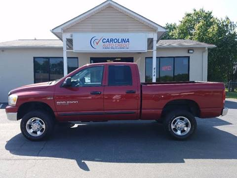2006 Dodge Ram Pickup 2500 for sale in Youngsville, NC