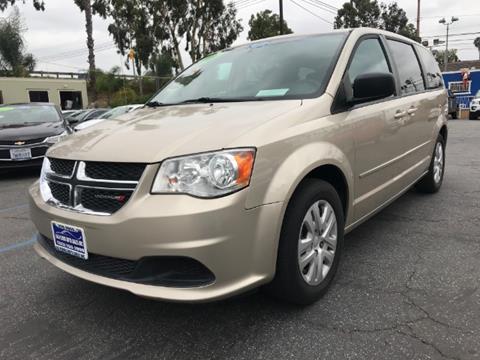 2015 Dodge Grand Caravan for sale in Los Angeles, CA
