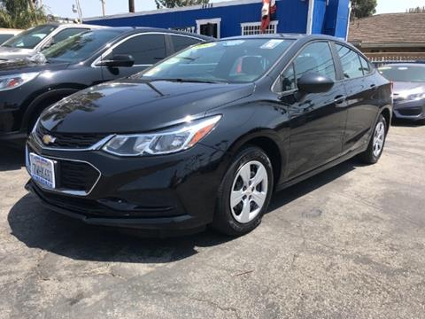 2017 Chevrolet Cruze for sale in Los Angeles, CA