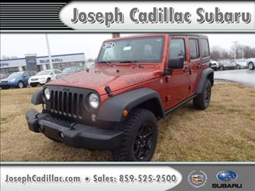 2014 Jeep Wrangler Unlimited for sale in Florence, KY