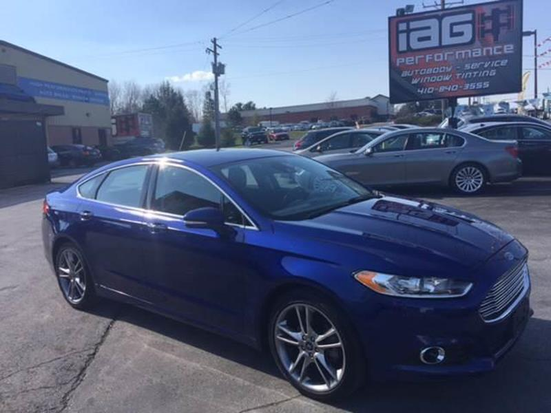 2013 Ford Fusion Titanium 4dr Sedan - Westminster MD