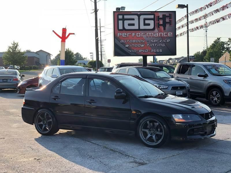 2006 Mitsubishi Lancer Evolution For Sale At Integrity Auto Group In  Westminster MD
