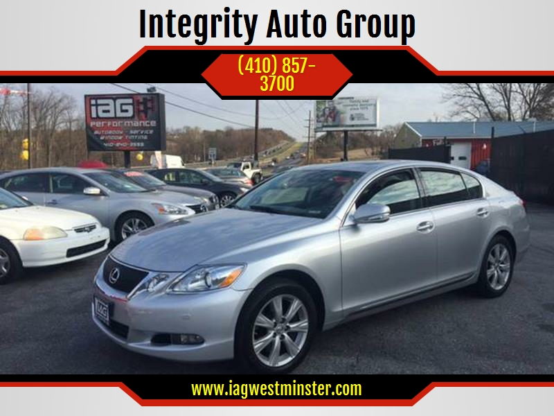 2008 Lexus GS 350 For Sale At Integrity Auto Group In Westminster MD