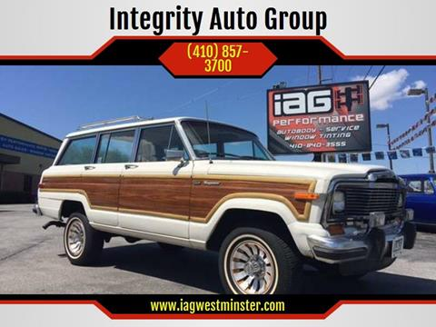 1985 Jeep Grand Wagoneer for sale in Westminister, MD