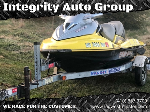 2011 Sea-Doo SUPERCHARGED BOMBARDIER SUPERCHARGED for sale in Westminister, MD