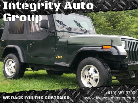 1995 Jeep Wrangler for sale in Westminister, MD