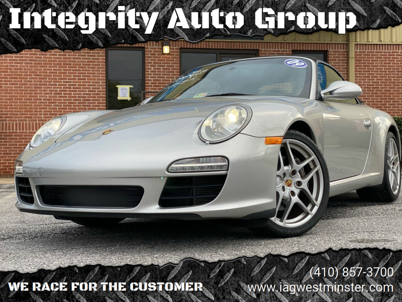 2009 Porsche 911 for sale at Integrity Auto Group in Westminister MD
