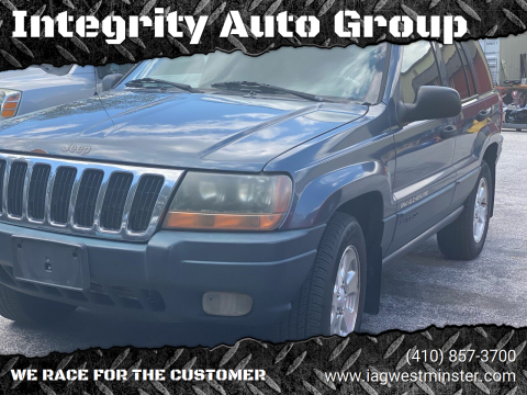 2001 Jeep Grand Cherokee for sale at Integrity Auto Group in Westminister MD