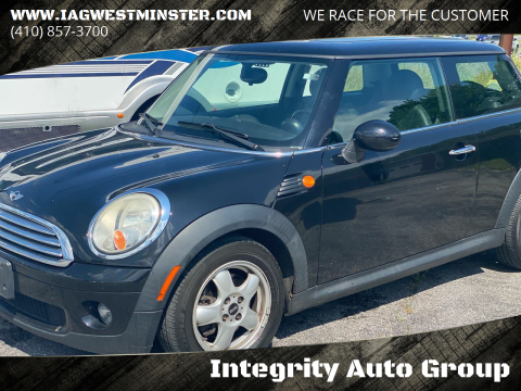2010 MINI Cooper for sale at Integrity Auto Group in Westminister MD