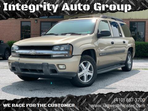 2004 Chevrolet TrailBlazer EXT for sale at Integrity Auto Group in Westminister MD