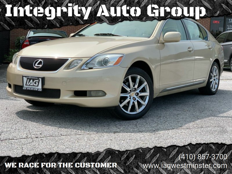 2006 Lexus GS 300 for sale at Integrity Auto Group in Westminister MD
