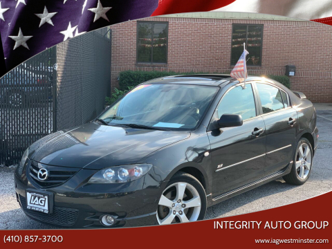 2006 Mazda MAZDA3 for sale at Integrity Auto Group in Westminister MD