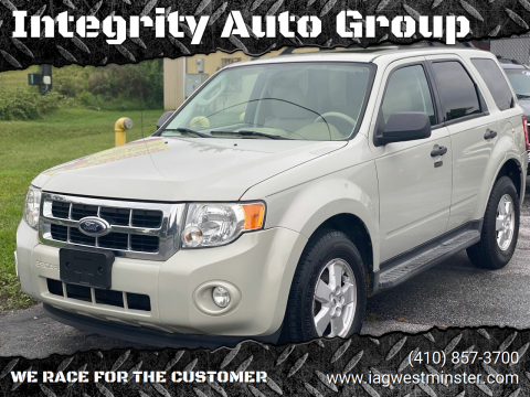 2009 Ford Escape for sale at Integrity Auto Group in Westminister MD