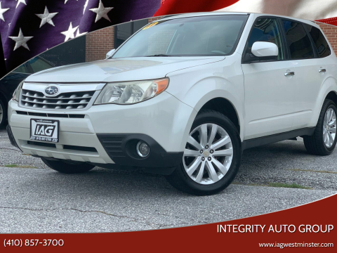 2012 Subaru Forester for sale at Integrity Auto Group in Westminister MD