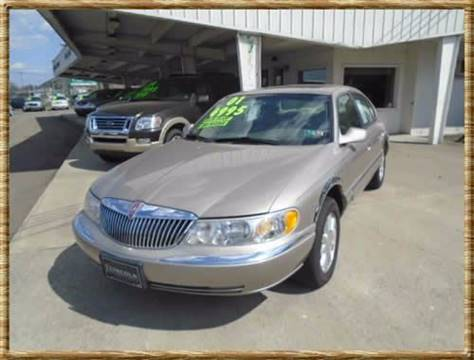 2001 Lincoln Continental for sale in Vestal, NY