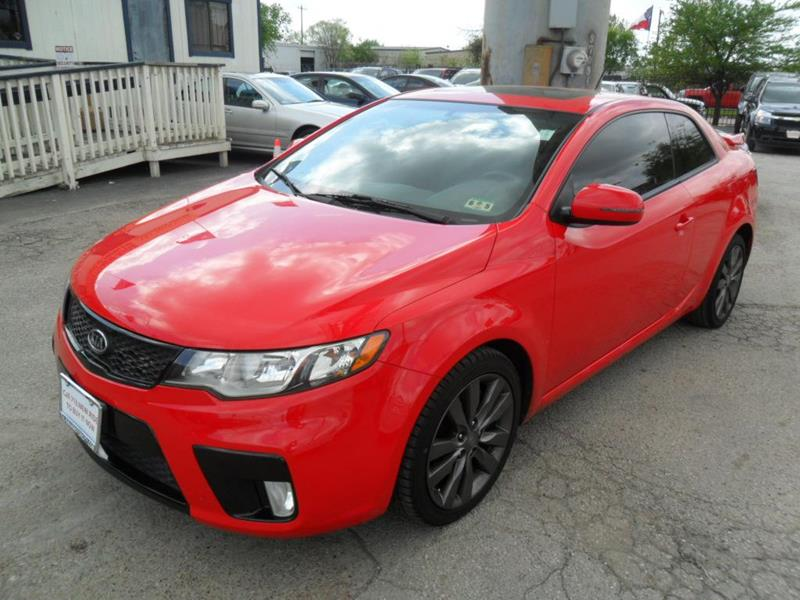 2011 kia forte koup sx 2dr coupe 6a in houston tx 295. Black Bedroom Furniture Sets. Home Design Ideas