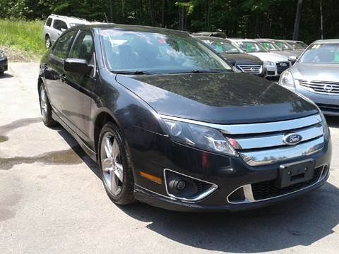 2010 Ford Fusion for sale in Chichester, NH
