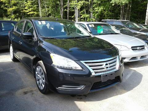 2013 Nissan Sentra for sale in Chichester, NH