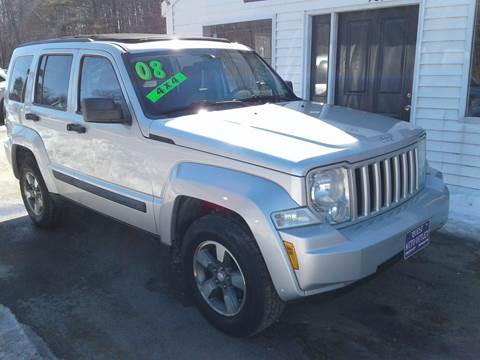 2008 Jeep Liberty for sale in Chichester, NH