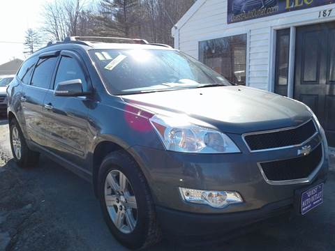 2011 Chevrolet Traverse for sale in Chichester, NH