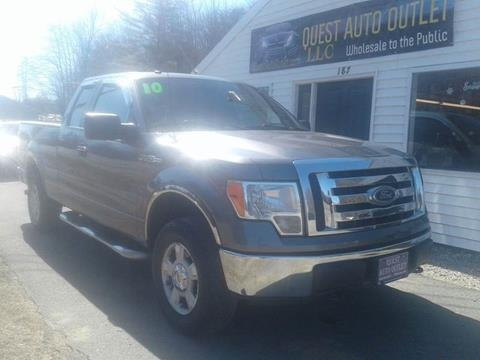 2010 Ford F-150 for sale in Chichester, NH