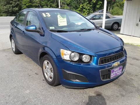 2013 Chevrolet Sonic for sale in Chichester, NH
