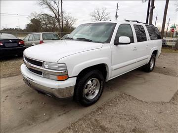 2002 Chevrolet Suburban for sale in Spring, TX